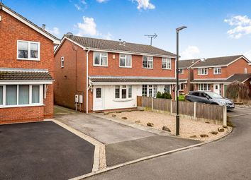Thumbnail 2 bed semi-detached house for sale in Nightingale Close, Ripley