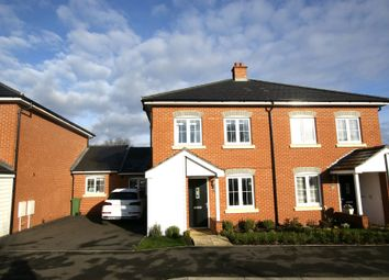Thumbnail 3 bedroom semi-detached house for sale in Bramley Drive, Hartley Wintney, Hook