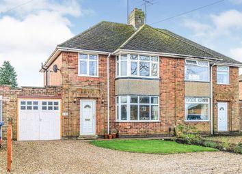 3 bed semi-detached house for sale in Braybrooke Road, Desborough, Kettering NN14