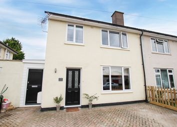 Thumbnail 4 bed semi-detached house for sale in Peverel Road, Cambridge