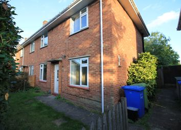 Thumbnail 4 bedroom semi-detached house to rent in Buckingham Road, Close To Uea Norwich