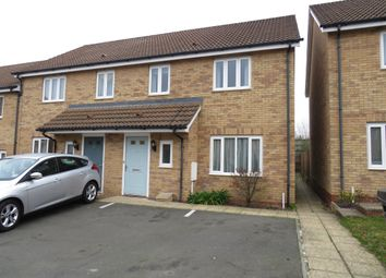 Thumbnail 3 bed semi-detached house for sale in Howards Way, Moulton, Northampton