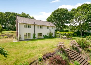Thumbnail 4 bed detached house for sale in Abbotswell Road, Frogham, Fordingbridge, Hampshire