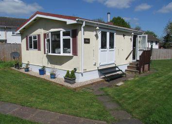 Thumbnail 1 bed mobile/park home for sale in 8 West Blackbushe Park, Dungells Lane