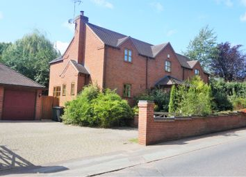 Thumbnail 4 bed detached house for sale in Newport Road, Hinstock Market Drayton