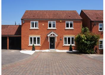 Thumbnail 4 bed detached house for sale in Carp Close, Worcester
