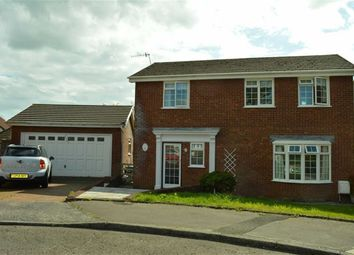 Thumbnail 4 bedroom detached house for sale in Meadow Drive, Swansea