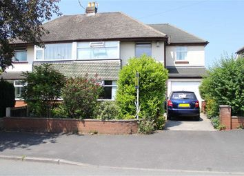 Thumbnail 5 bedroom semi-detached house for sale in Cadley Causeway, Fulwood, Preston