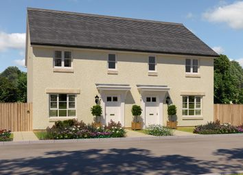 "Thumbnail 3 bed semi-detached house for sale in ""Traquair"" at Corseduick Road, Newmachar, Aberdeen"