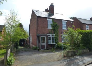 Thumbnail 2 bed semi-detached house for sale in Walsall Road, Lichfield