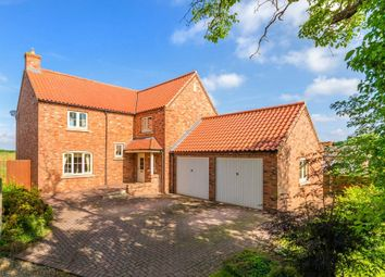 Thumbnail 4 bed detached house for sale in Church Lane, Kirkby-La-Thorpe, Sleaford, Lincolnshire