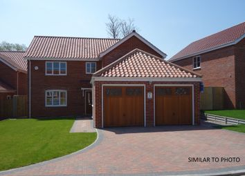 Thumbnail 4 bedroom detached house for sale in Heritage Green, Kessingland, Lowestoft