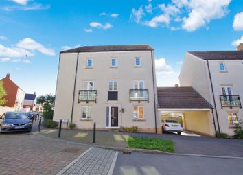 Thumbnail 4 bed town house for sale in Withering Road, Swindon