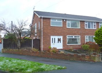 Thumbnail 3 bed property to rent in Beechcroft Drive, Whitby, Ellesmere Port