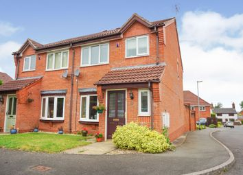 Thumbnail 3 bed semi-detached house for sale in Cygnet Court, Wombourne, Wolverhampton