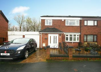 Thumbnail 3 bed semi-detached house for sale in Churchway, Stirchley, Telford, Shropshire