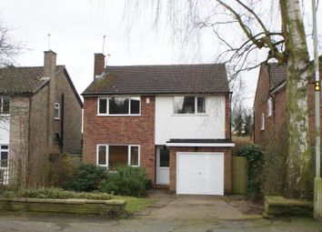 Thumbnail 3 bed detached house for sale in Latimer Road, Cropston, Leicester