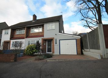 Thumbnail 3 bed semi-detached house for sale in Manor Close, Gidea Park, Romford