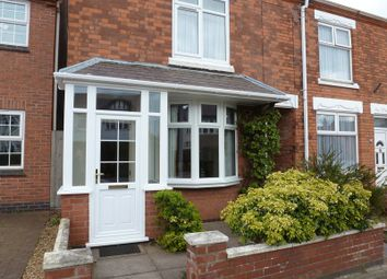 Thumbnail 2 bed terraced house to rent in Sketchley Road, Burbage, Hinckley
