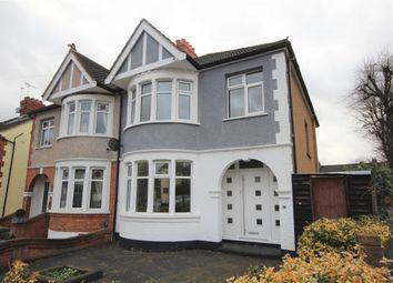 Thumbnail 3 bedroom semi-detached house to rent in Slewins Lane, Hornchurch