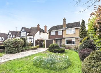 Thumbnail 4 bed detached house to rent in Between Streets, Cobham
