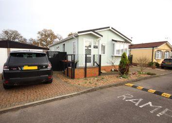2 bed detached house for sale in Little Meadow, Woodside Home Park, Woodside, Luton LU1