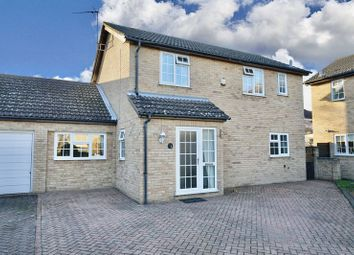 Thumbnail 4 bed link-detached house for sale in Fletchers Close, Ramsey, Cambridgeshire.