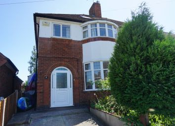 Thumbnail 4 bed semi-detached house for sale in Lyncote Road, Leicester