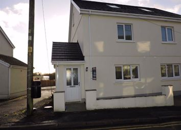 4 bed semi-detached house for sale in Heol Y Pentre, Ponthenry, Llanelli SA15