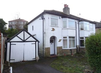 Thumbnail 3 bed semi-detached house to rent in Branksome Grove, Shipley, West Yorkshire