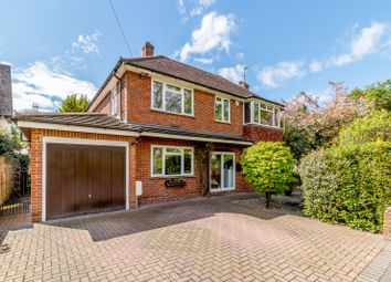 Thumbnail 4 bed detached house for sale in Westfield Parade, Byfleet Road, New Haw, Addlestone