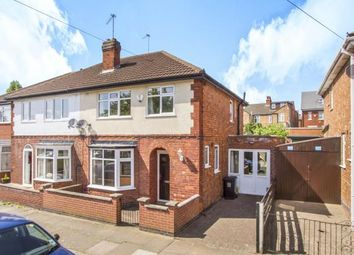 Thumbnail 3 bedroom semi-detached house for sale in Greenhill Road, Leicester