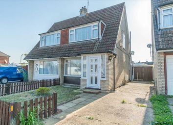 Thumbnail 2 bed semi-detached house for sale in Holmwood Road, Ashford, Kent