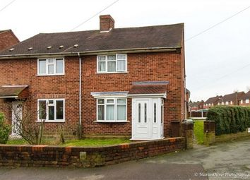 Thumbnail 2 bedroom semi-detached house to rent in Rydal Close, Wednesfield, Wolverhampton, West Midlands