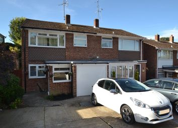 Thumbnail 3 bedroom semi-detached house for sale in Prince Charles Avenue, Walderslade, Chatham