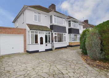 Thumbnail 4 bedroom semi-detached house for sale in Ulster Avenue, Shoeburyness, Southend-On-Sea
