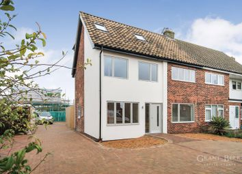 Thumbnail 4 bed semi-detached house for sale in West End, Haddenham, Ely, Cambridgeshire