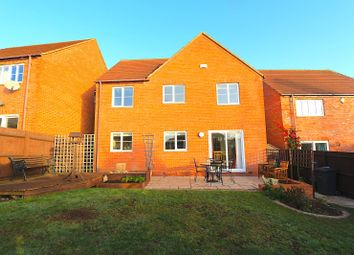 Thumbnail 4 bed detached house for sale in Forest Rise, Desford, Leicester