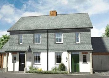 Thumbnail 3 bed semi-detached house for sale in Hobbacott Lane, Marhamchurch, Bude