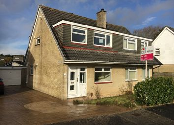 Thumbnail 3 bed semi-detached bungalow for sale in Killigrew Avenue, Saltash