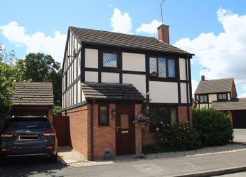 Thumbnail 3 bed detached house for sale in Mulcaster Avenue, Grange Park, Swindon