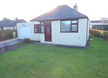 Thumbnail 2 bed bungalow for sale in Mile Road, Widdrington, Morpeth