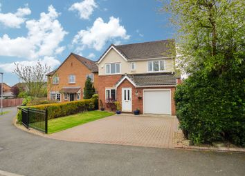 Thumbnail 4 bed detached house for sale in Glazebury Way, Cramlington