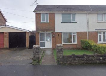 Thumbnail 3 bed semi-detached house for sale in Harddfan, Bryn, Llanelli