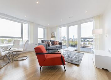 Thumbnail 2 bed flat to rent in Plough Way, Marine Wharf East, London