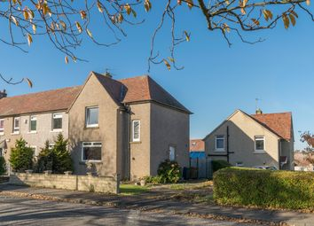 Thumbnail 3 bed end terrace house for sale in Clermiston Drive, Edinburgh