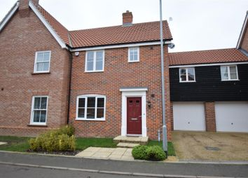 Thumbnail 3 bed semi-detached house for sale in Little Plumstead, Norwich