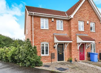 Thumbnail 2 bedroom end terrace house for sale in Tesmonde Close, Norwich