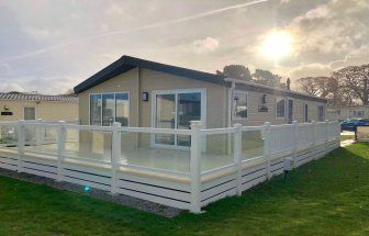 Thumbnail 2 bedroom lodge for sale in Hoburne Holiday Park, Blue Anchor Bay Rd, Minehead, Somerset
