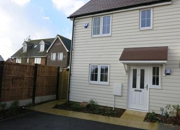 Thumbnail 3 bedroom property to rent in Aurum Close, Whitstable